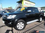 2010 Toyota Hilux KUN26R 09 Upgrade SR5 (4x4) Black Automatic 4sp A for Sale