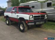 Dodge: Ramcharger for Sale