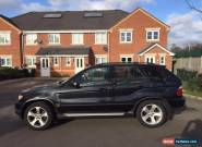 2003 BMW X5 D SPORT AUTO BLACK FSH LADY OWNER  for Sale