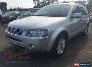 2005 Ford Territory SX Ghia (4x4) Silver Automatic 4sp A Wagon for Sale