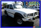 Classic 1992 Toyota Landcruiser GXL (4x4) White Automatic 4sp A Wagon for Sale
