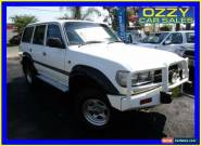1992 Toyota Landcruiser GXL (4x4) White Automatic 4sp A Wagon for Sale