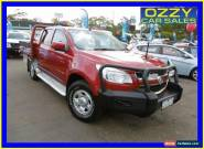 2012 Holden Colorado RG LX (4x4) Burgundy Automatic 6sp A Crewcab for Sale
