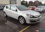 2006 VAUXHALL ASTRA SXI TWINPORT SILVER 1.4 for Sale