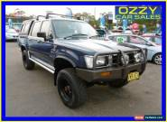 1994 Toyota Hilux LN106R (4x4) Blue Manual 5sp M Dual Cab Pick-up for Sale