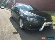 2008 Holden Commodore VE SV6 Black Manual 6sp M Utility for Sale