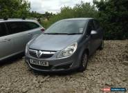 2009 VAUXHALL CORSA LIFE A/C SILVER NON RUNNER SPARES OR REPAIR for Sale