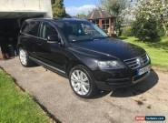 2005 VOLKSWAGEN TOUAREG V10 TDI AUTO BLACK for Sale