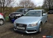 2009 AUDI A4 AVANT SE TDI AUTO BLUE NON RUNNER SPARES OR REPAIR for Sale