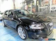 2010 Audi A3 8P MY10 TFSI Ambition Black Automatic 7sp A Hatchback for Sale