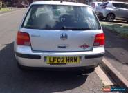 vw golf mk4 2002 1.6 S For Sale for Sale