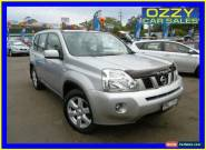 2008 Nissan X-Trail T31 TS (4x4) Silver Automatic 6sp A Wagon for Sale