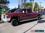 2007 Chevrolet Silverado 2500HD LT Red Automatic A Dual Cab for Sale