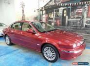 2007 Jaguar X-Type X400 MY07 LE Burgundy Automatic 5sp A Sedan for Sale