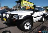 Classic 2001 Nissan Patrol GU II ST (4x4) White Manual 5sp M Wagon for Sale
