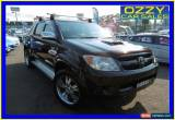 Classic 2008 Toyota Hilux KUN26R 07 Upgrade SR5 (4x4) Black Automatic 4sp A for Sale