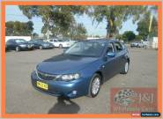 2009 Subaru Impreza MY09 RS (AWD) Blue Manual 5sp M Hatchback for Sale