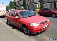 2000 (X Reg) VAUXHALL ASTRA CD 16V RED for Sale