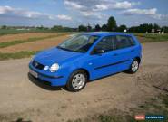 VW  VOLKSWAGEN POLO 1.2 2002 for Sale