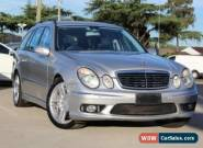 2004 Mercedes-Benz E55 211 AMG Silver Automatic 5sp A Wagon for Sale