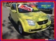 2004 Holden Cruze YG Yellow Automatic 4sp A Wagon for Sale