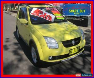 Classic 2004 Holden Cruze YG Yellow Automatic 4sp A Wagon for Sale