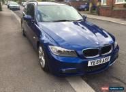 BMW 318D M SPORT ESTATE AUTO LEMANS BLUE for Sale