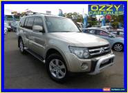 2007 Mitsubishi Pajero NS VR-X LWB (4x4) Champagne Automatic 5sp A Wagon for Sale
