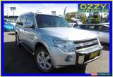Classic 2011 Mitsubishi Pajero NT MY11 RX (4x4) Silver Automatic 5sp A Wagon for Sale