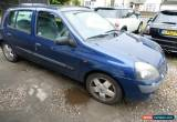 Classic renault clio 1.4 5 door spares or repairs for Sale