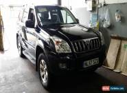 2007 TOYOTA LAND CRUISER INVIN D4-D A BLACK for Sale