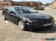 2003 BMW 320D SE BLACK for Sale