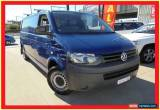 Classic 2011 Volkswagen Transporter T5 MY11 Blue 7 Sports Automatic Dual Clutch Van for Sale