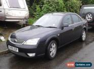 Ford Mondeo 2.0 litre TDCI Ghia (panther black) for Sale