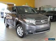 2012 Toyota Kluger GSU45R MY12 KX-R AWD Graphite Automatic A WAGI for Sale