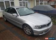 SILVER BMW 320TD 6 SPEED MANUAL  for Sale