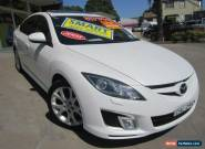 2008 Mazda 6 GH Luxury White Automatic 5sp A Sedan for Sale