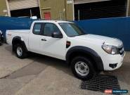 2010 Ford Ranger PK XL (4x4) White Manual 5sp M Super Cab Pick-up for Sale