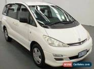 2004 Toyota Tarago GLi 8 SEATER with RWC & REGO Automatic 4sp A Wagon for Sale