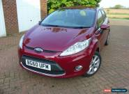 2010 (Nov) FORD FIESTA ZETEC 1.25 5 Door Hatchback *low milage* for Sale
