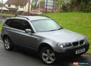 Bmw x3 Sport Manual for Sale