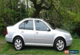 Classic 2001 VOLKSWAGEN BORA SE AUTO SILVER for Sale