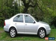 2001 VOLKSWAGEN BORA SE AUTO SILVER for Sale