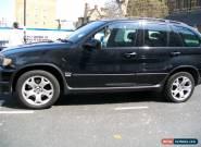 BMW X5 3.0 diesel AUTO BLACK 2002 for Sale