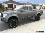 Nissan d40 navara custom modified for Sale