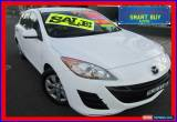 Classic 2009 Mazda 3 BL Neo White Manual 6sp M Hatchback for Sale