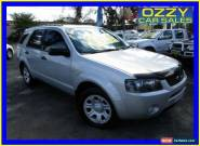 2006 Ford Territory SY TX (4x4) Silver Automatic 6sp A Wagon for Sale