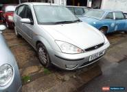 2002 FORD FOCUS GHIA SILVER for Sale