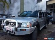 2003 Nissan Navara D22 Silver Manual 5sp M Dual Cab for Sale