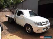 HILUX SINGLE CAB V6 AUTOMATIC 2006 IN WHITE ALLOY WHEELS LONG TRAY WITH SIDES for Sale